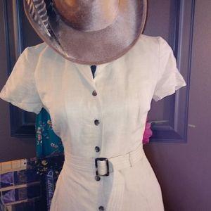 Great Ann Taylor Safari dress